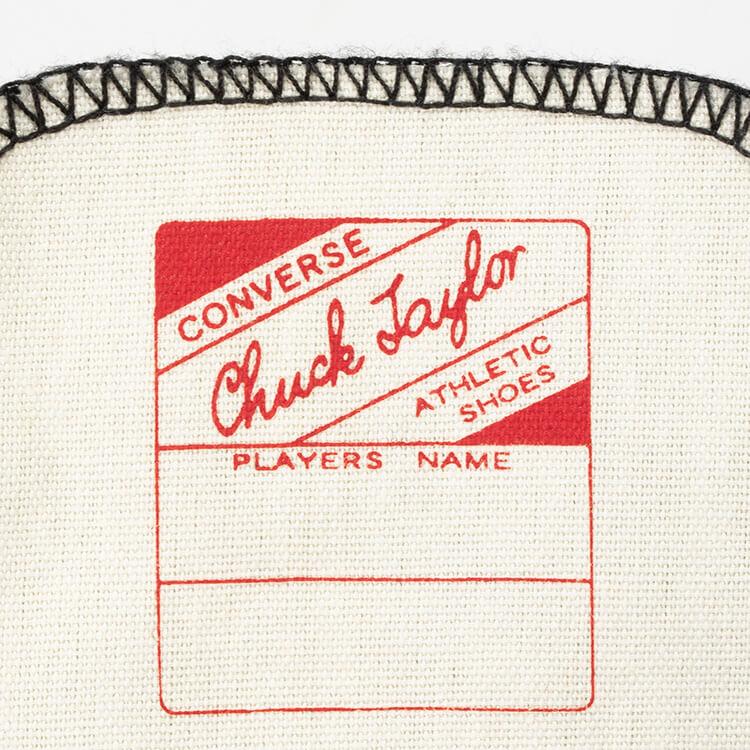 チャックテイラーのプレイヤーズネーム