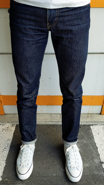 Levi's 511 made in the usaの着用画像