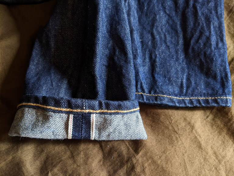 リーバイス511の裾