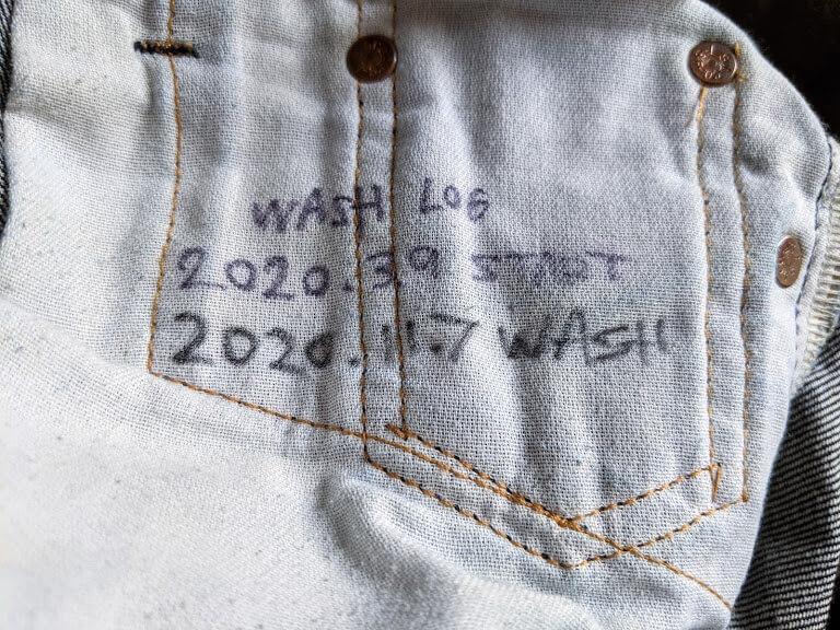 スレーキの洗濯記録