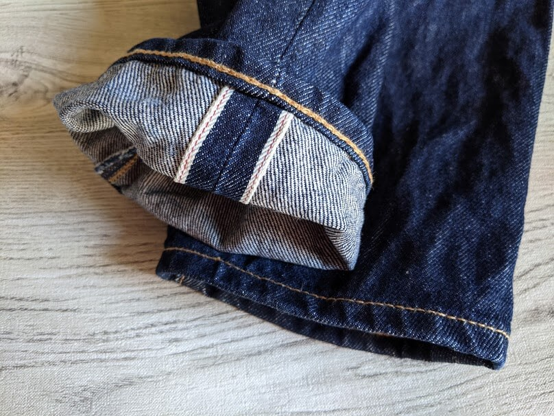 levis 511 made in the usaの裾
