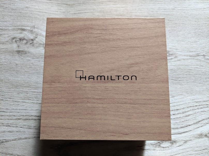 ハミルトンの化粧箱