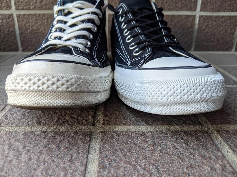converse addict chuck taylorとCT70の比較