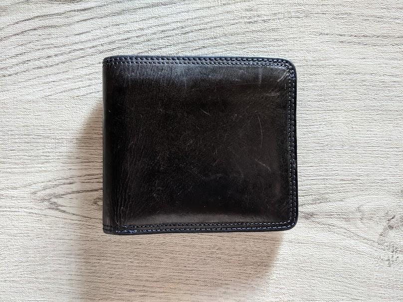 corbo.のSLATE二つ折り財布