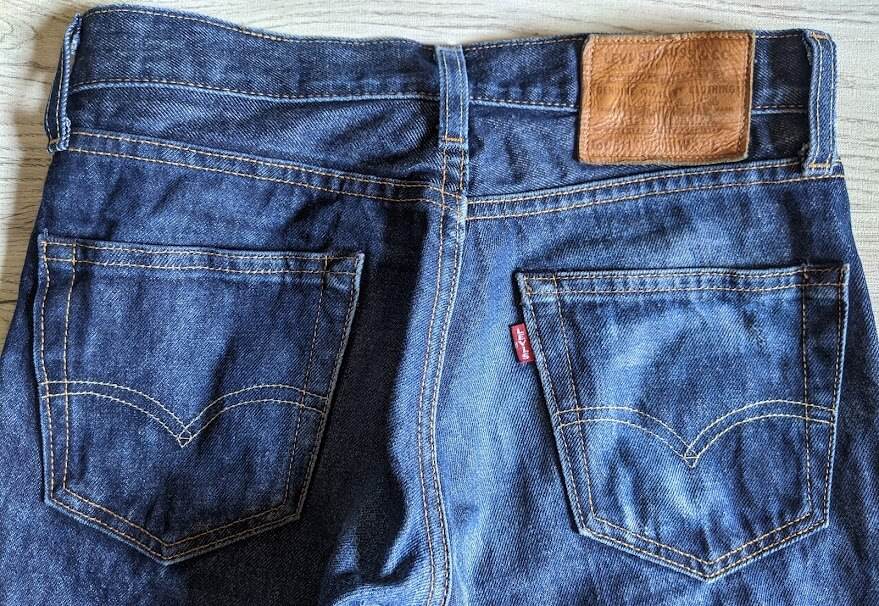 Levis 511 made in the usaのバックショット loading=