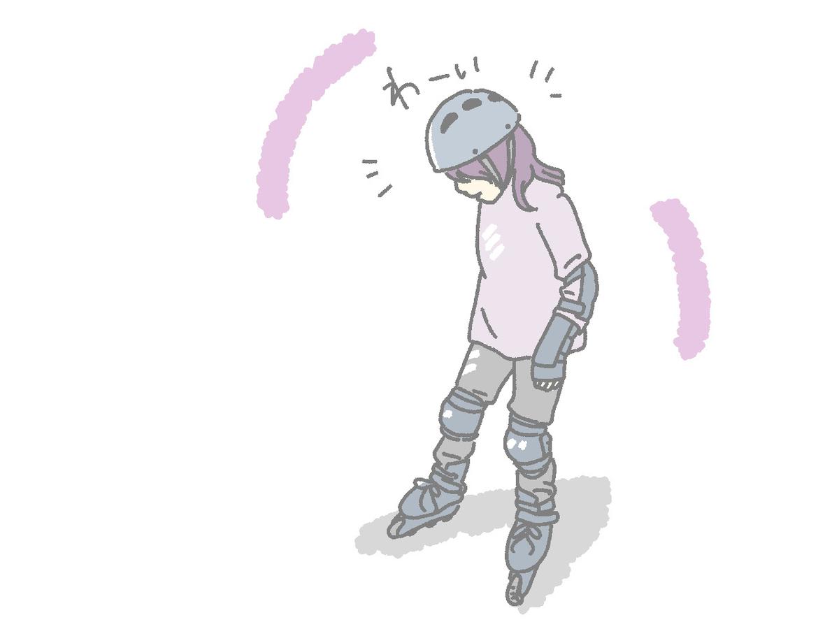ローラースケートイラスト