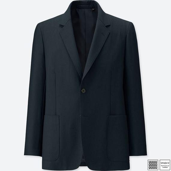 Uniqlo Uウールブレンドジャケット