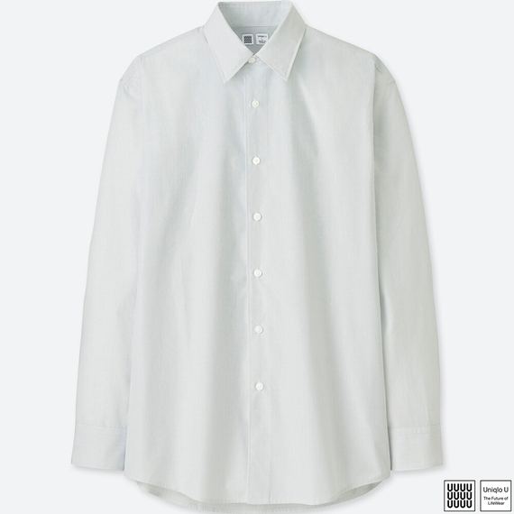 Uniqlo Uブロードシャツ(長袖)