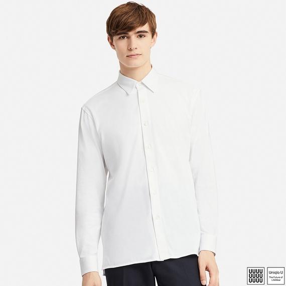 Uniqlo Uスーピマコットンジャージーシャツ(長袖)