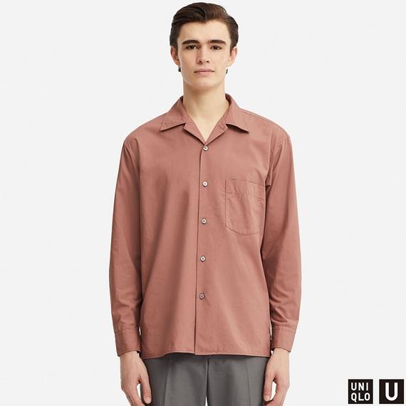 ワイドフィットシャツ(長袖)