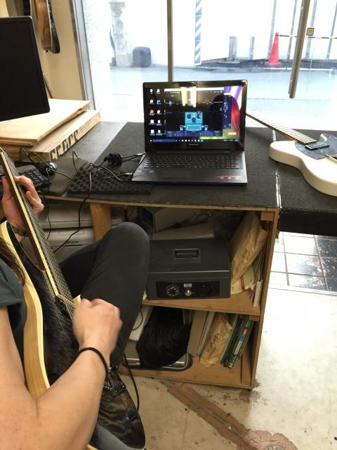 多弦ギターに使用しているシステム