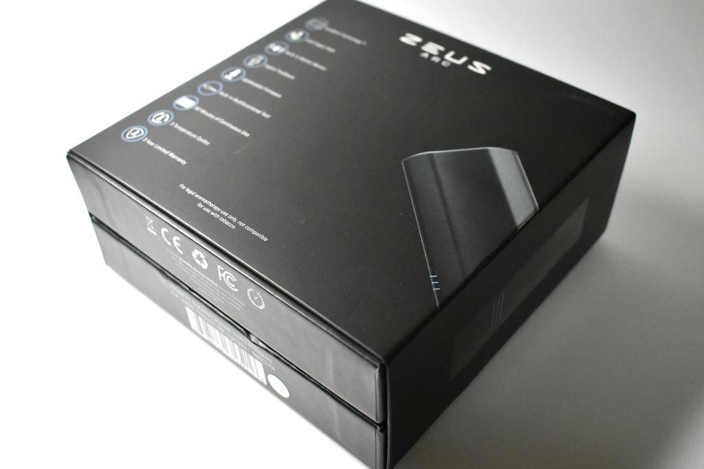 ZEUS ARC GTの箱画像