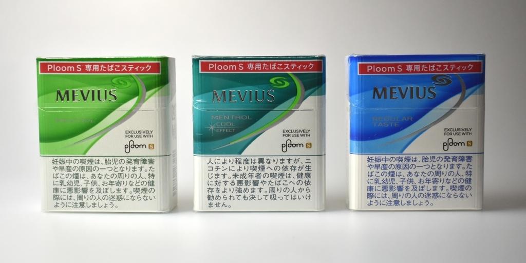 プルームSのタバコスティック全種類