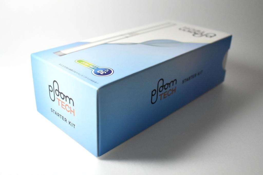 プルームテック白の箱