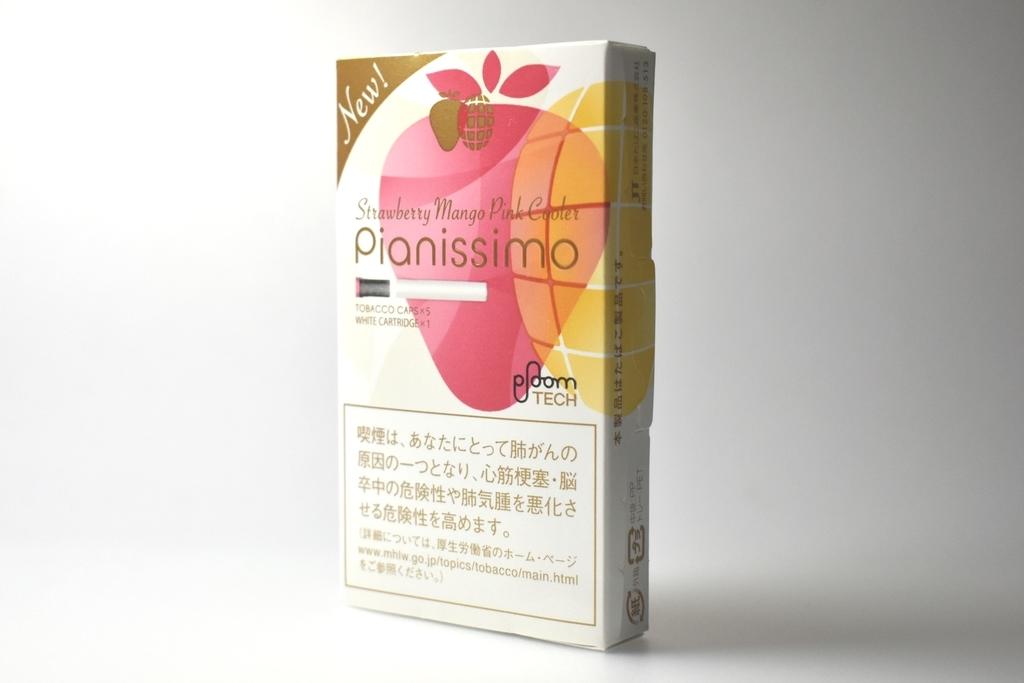 プルームテック専用Pianissimo Strawberry Mango Pink Cooler(ピアニッシモストロベリーマンゴークーラー)