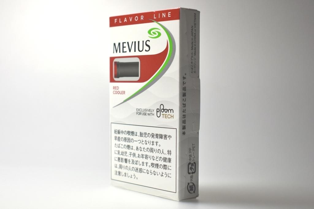 プルームテック専用FLAVOR LINE MEVIUS RED COOLER(メビウスレッドクーラー)