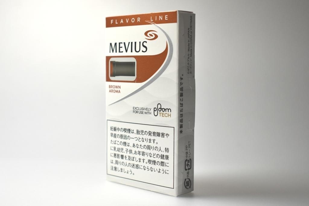 プルームテック専用FLAVOR LINE MEVIUS BROWN AROMA(メビウスブランアロマ)