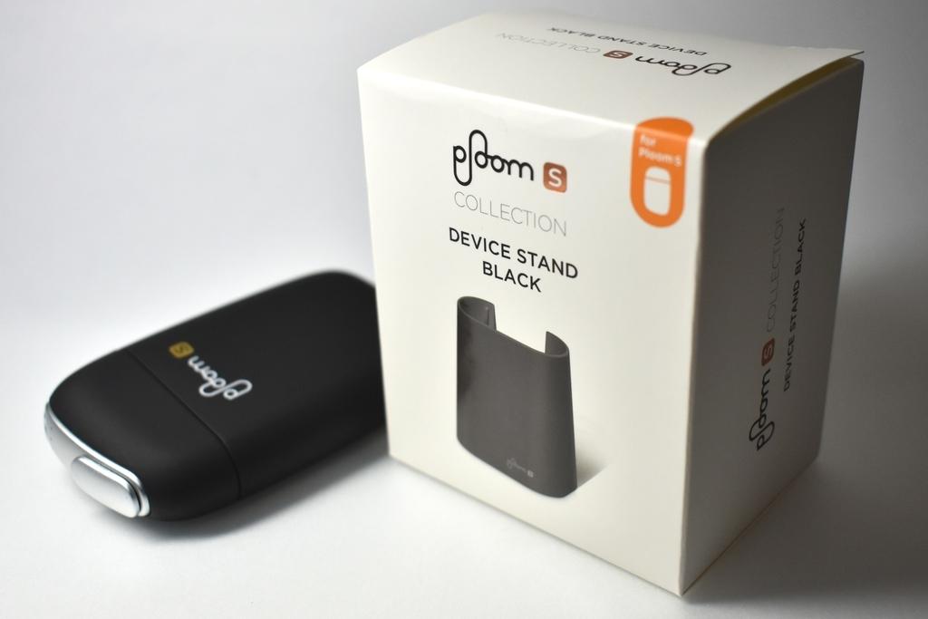 プルームS専用デバイススタンド黒の箱画像
