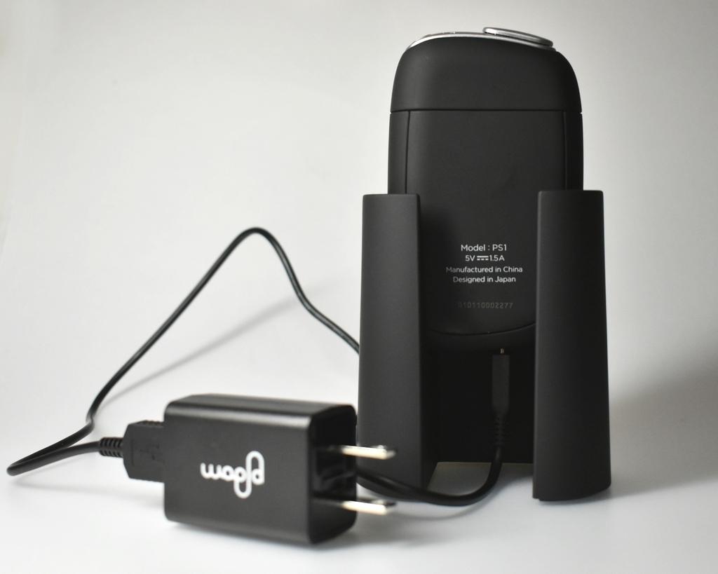 プルームS専用デバイススタンド背面の画像