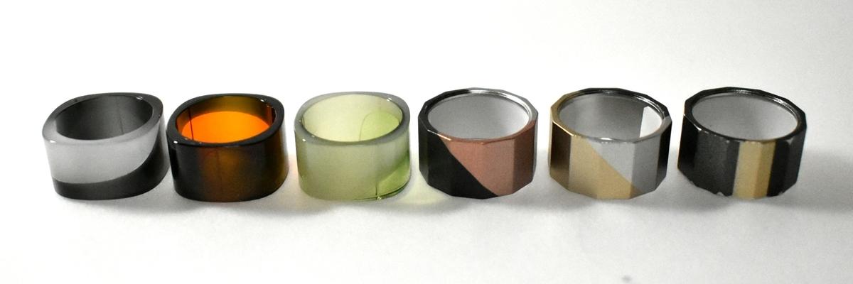 プルームテックプラス専用リング全6色 現物画像