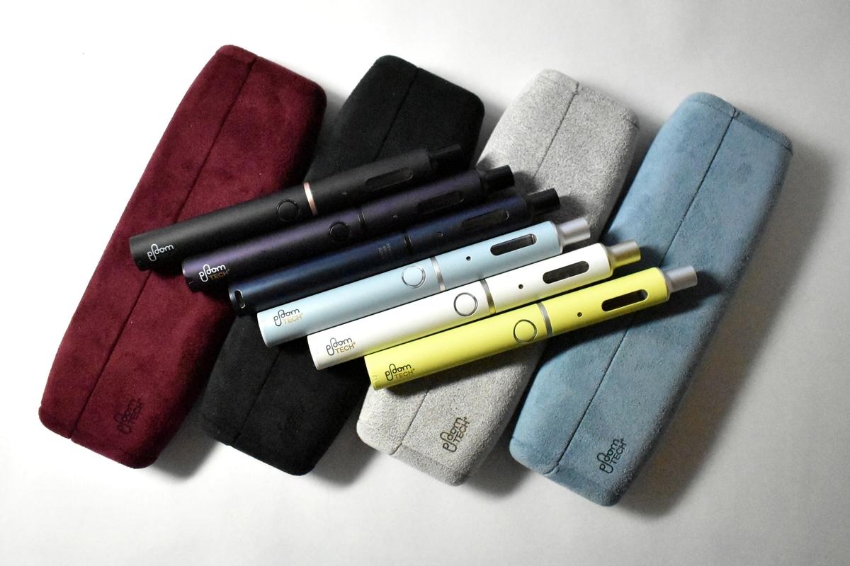 プルームテックプラス専用ハードケース全4色とデバイス本体全6色