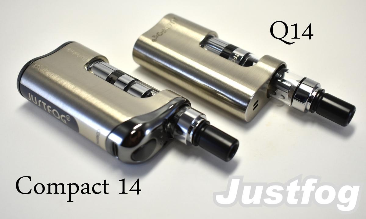 Justfog compact14とQ14