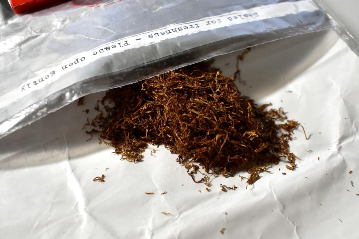 チェ・シルバーのたばこ葉