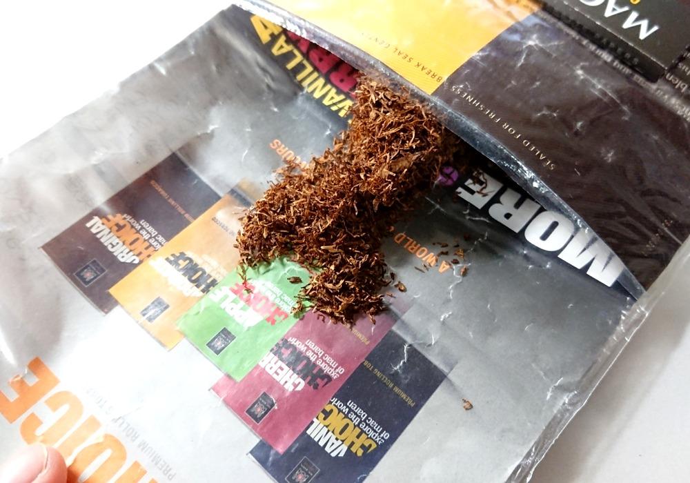 チョイス・ラムコーヒーのたばこ葉