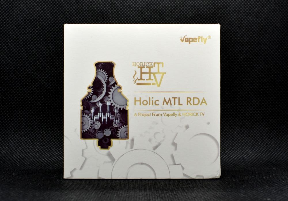 VapeFly Holic MTL RDA ホリックTVアトマイザーの箱