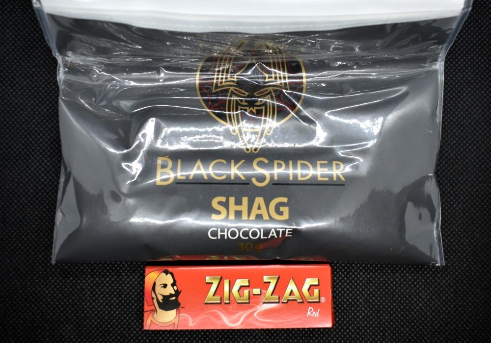 ブラックスパイダー・シャグ・チョコレート