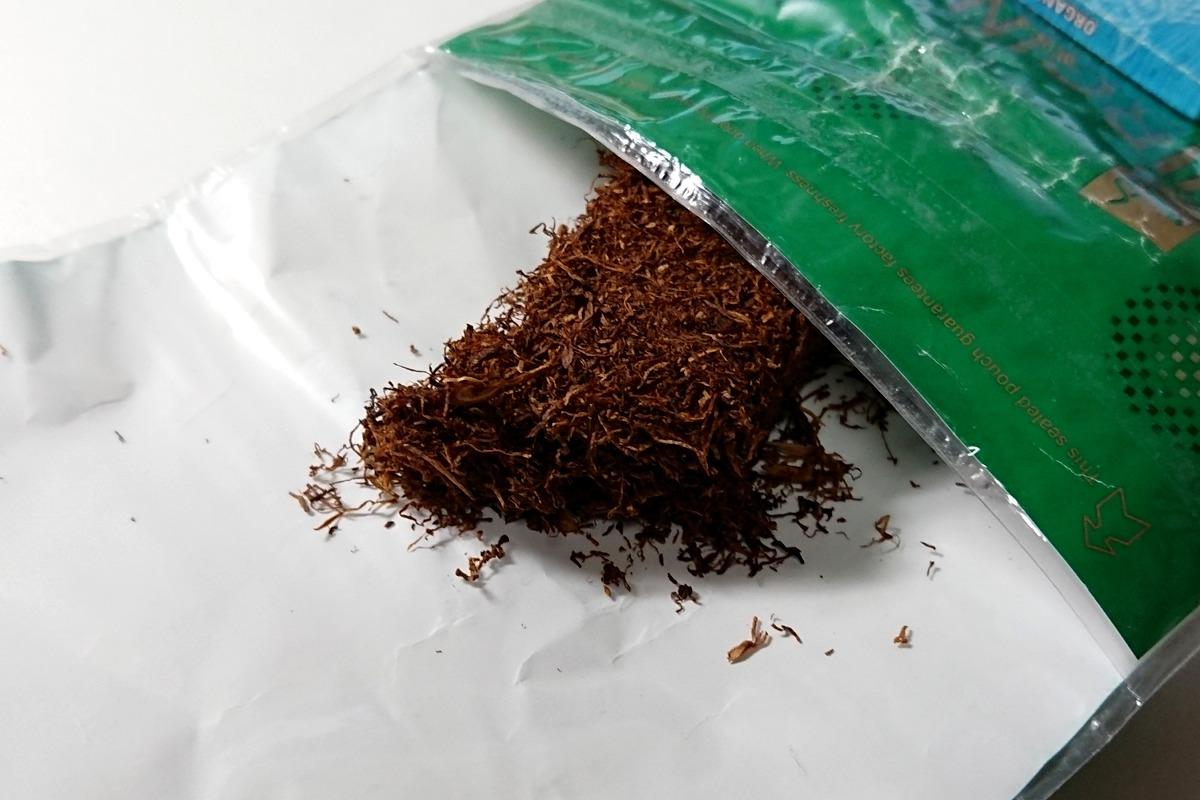 ゴールデンブレンド・バージニアグリーンのたばこ葉