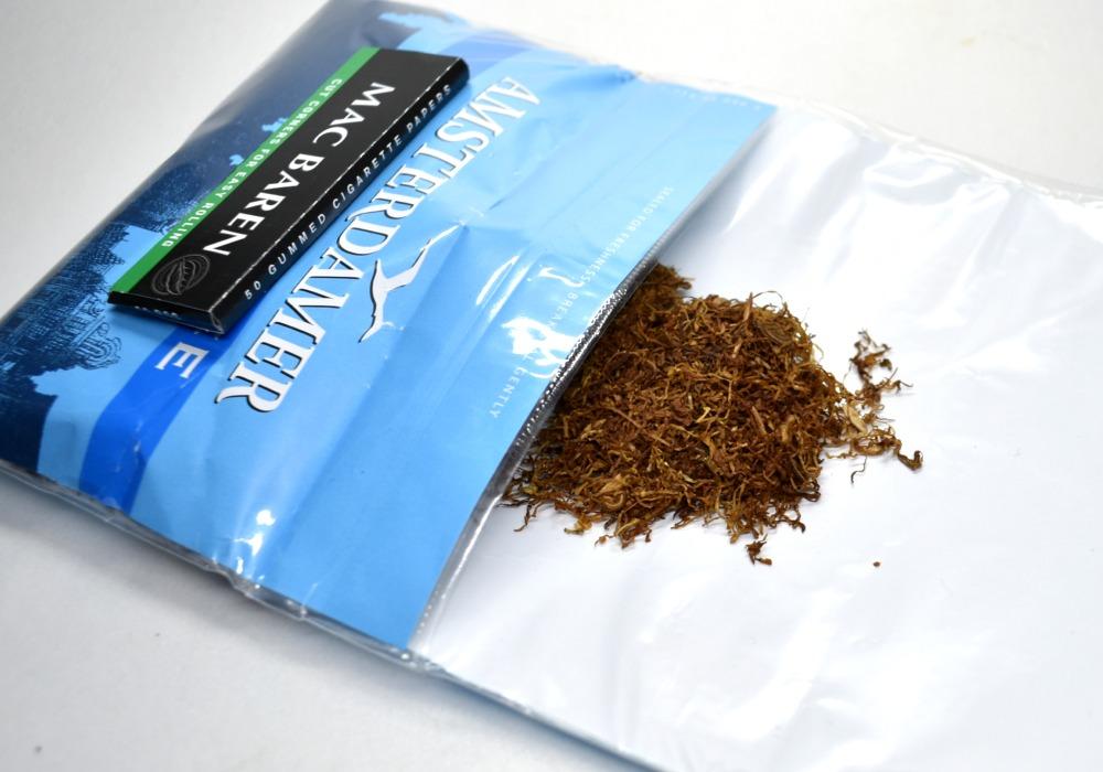 アムステルダマー メンソールアイスのたばこ葉