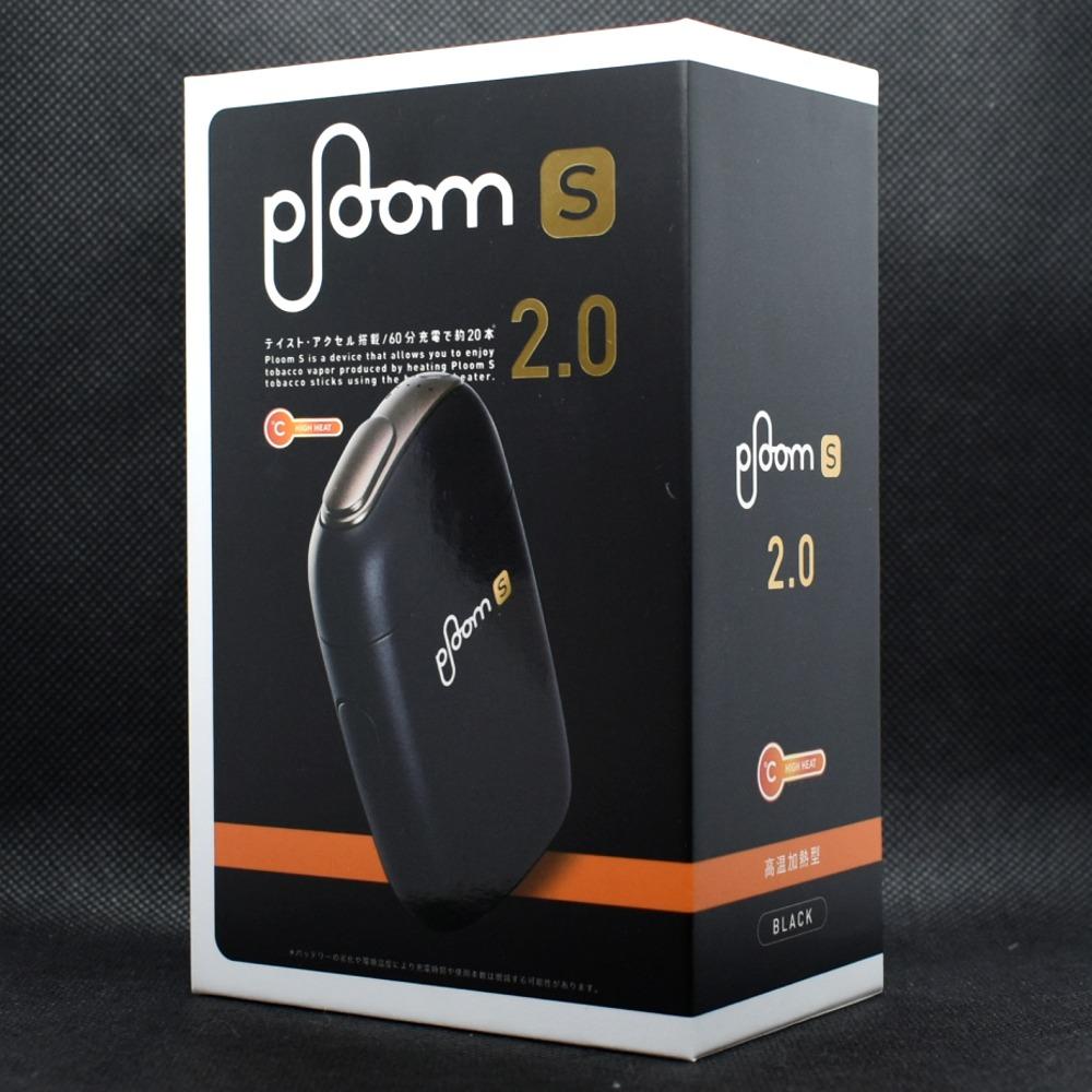Ploom S 2.0 BLACK(プルーム・エス2.0ブラック)