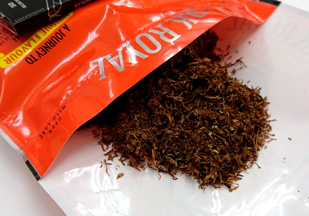 アークローヤルパッションフルーツのたばこ葉