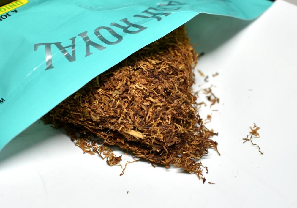 シャグ,アークローヤルミントクリーム,たばこ葉画像