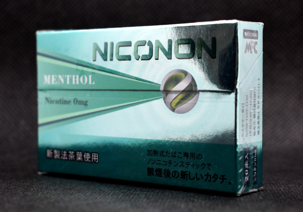 NICONON,MENTHOL,メンソール画像