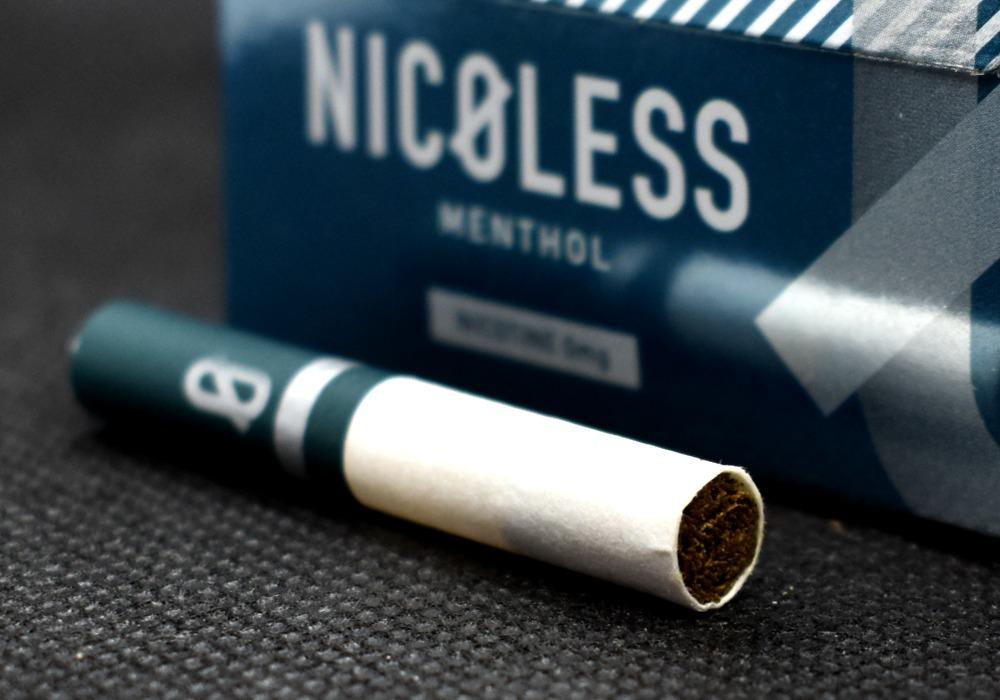 NICOLESS MENTHOL,ニコレス メンソール,茶葉スティック,ノンニコチンスティック