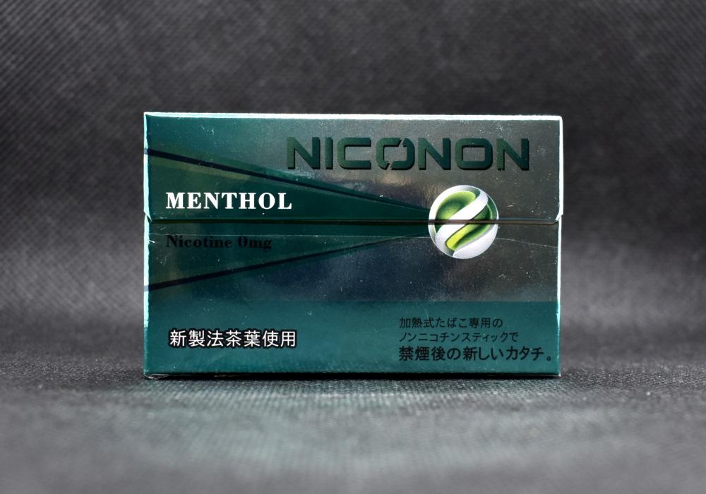 NICONON MENTHOL,ニコノン メンソール,ノンチコチン,茶葉スティック