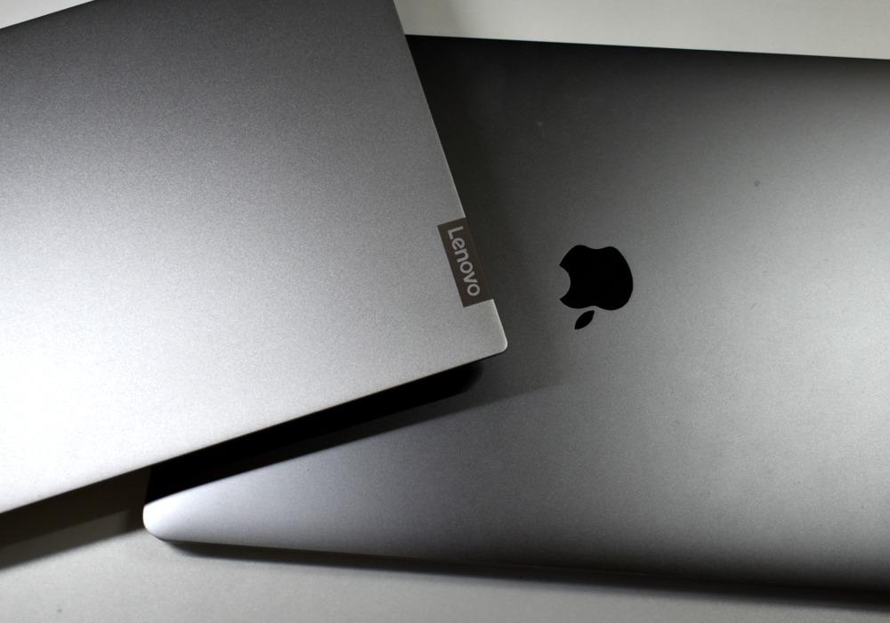 Lenovo Ideapad S340,mac book pro