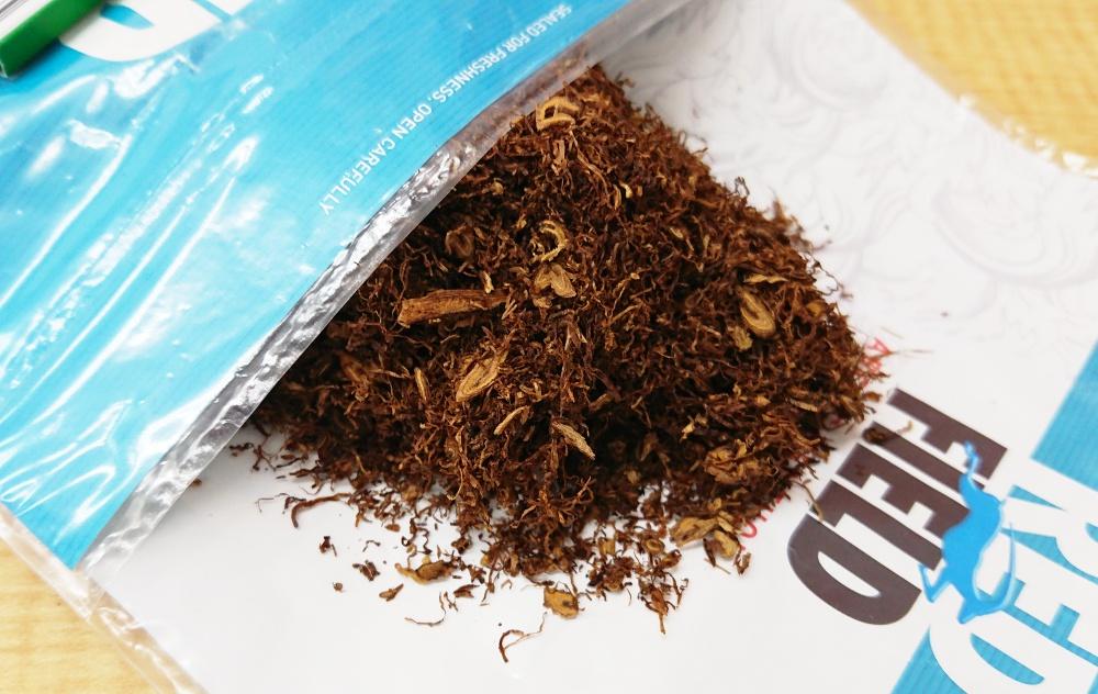 シャグ,レッドフィールドメンソール,タバコ葉