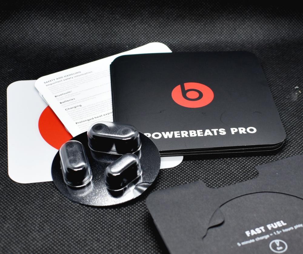 Power beats Proワイヤレスイヤホン,内容物