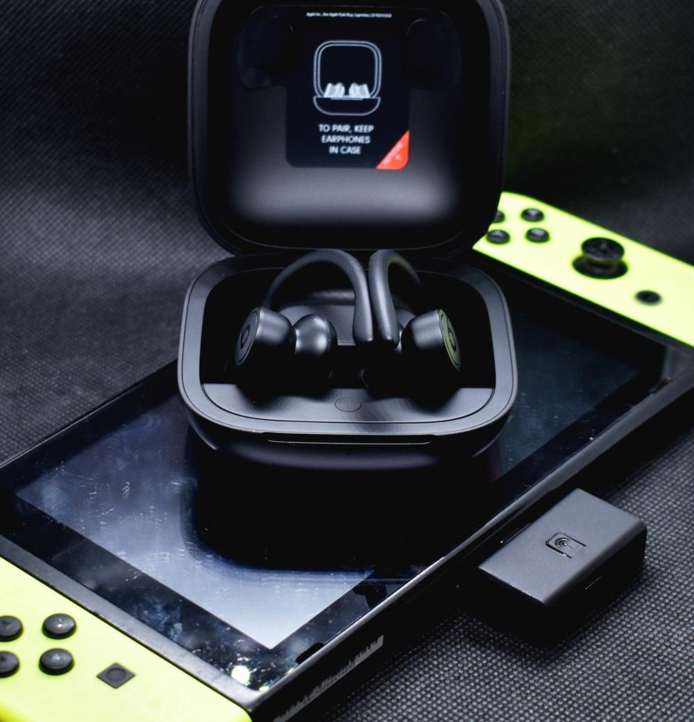 Bluetoothオーディオトランスミッター,任天堂スイッチ,beatsヘッドフォン
