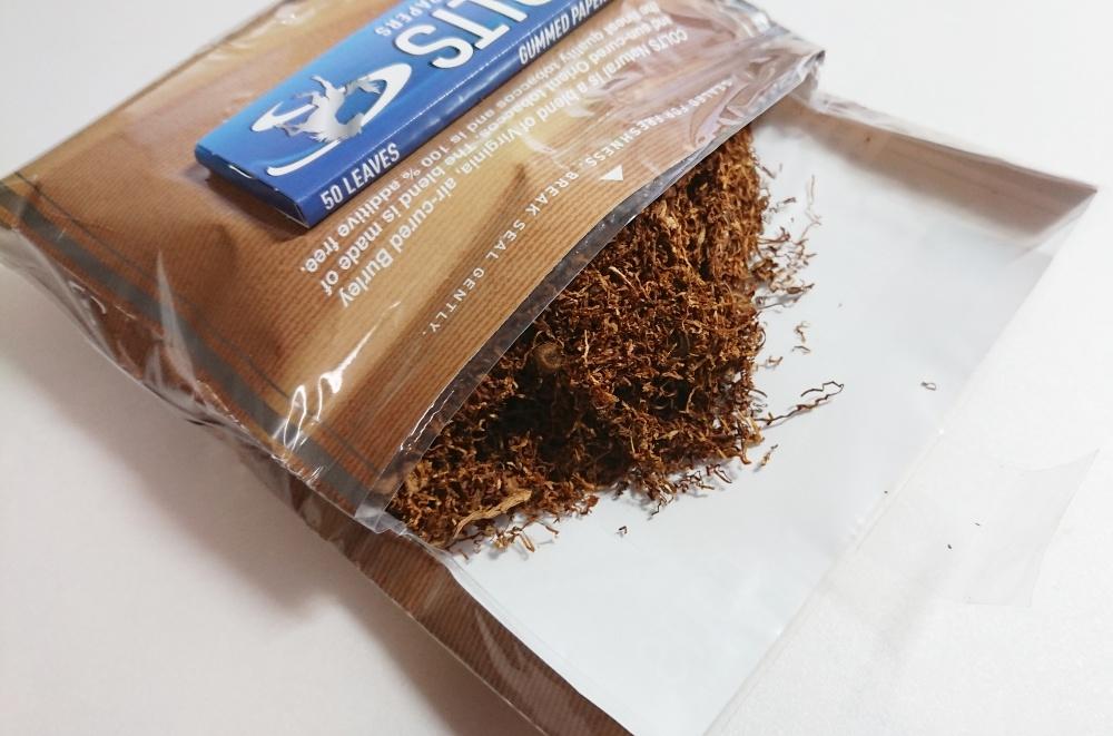 コルツ100%ナチュラル,たばこ葉