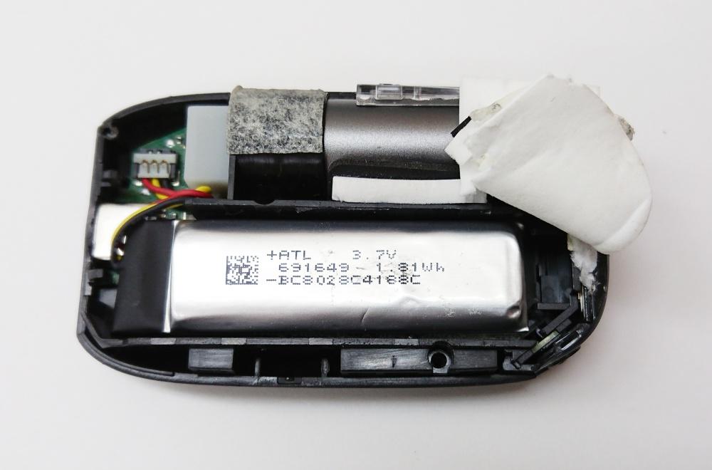 プルームテックプラスウィズ,分解,バッテリー