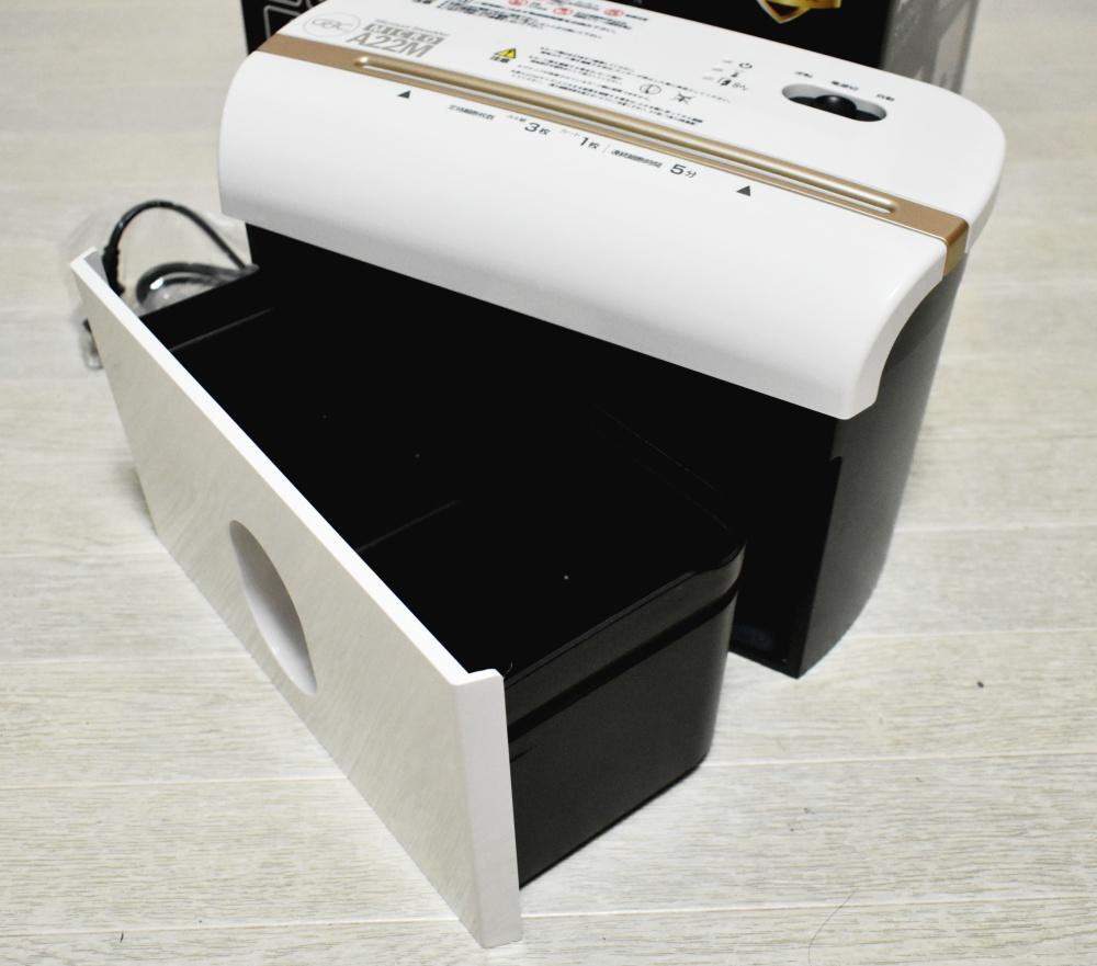 GBCマイクロカットシュレッダ A22M,ダストボックス