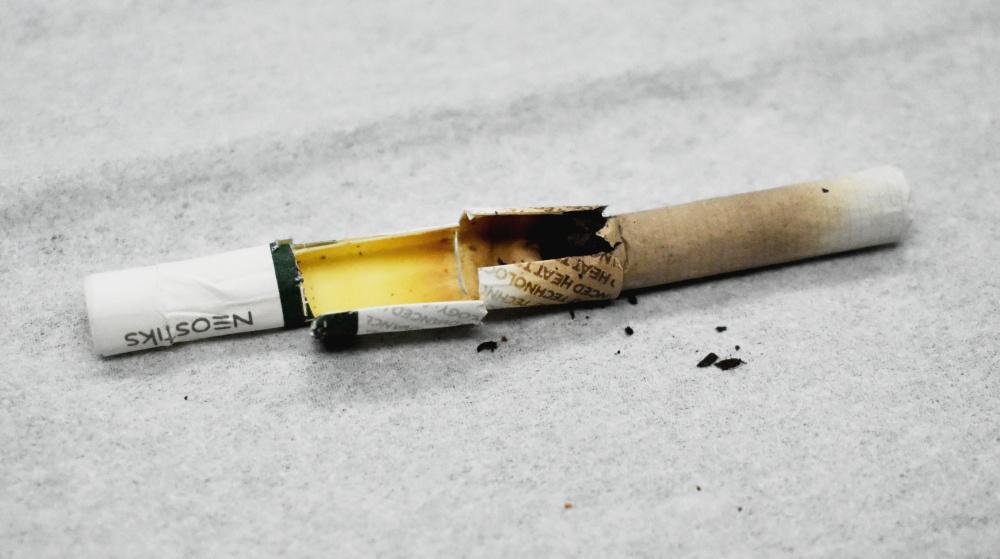 グローハイパー,タバコスティック分解