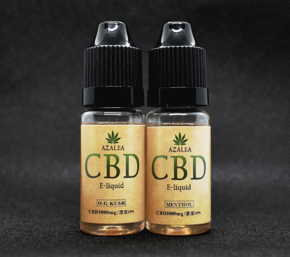 CBD濃度10%,Azalea 高濃度リキッド,CBD OGKUSH