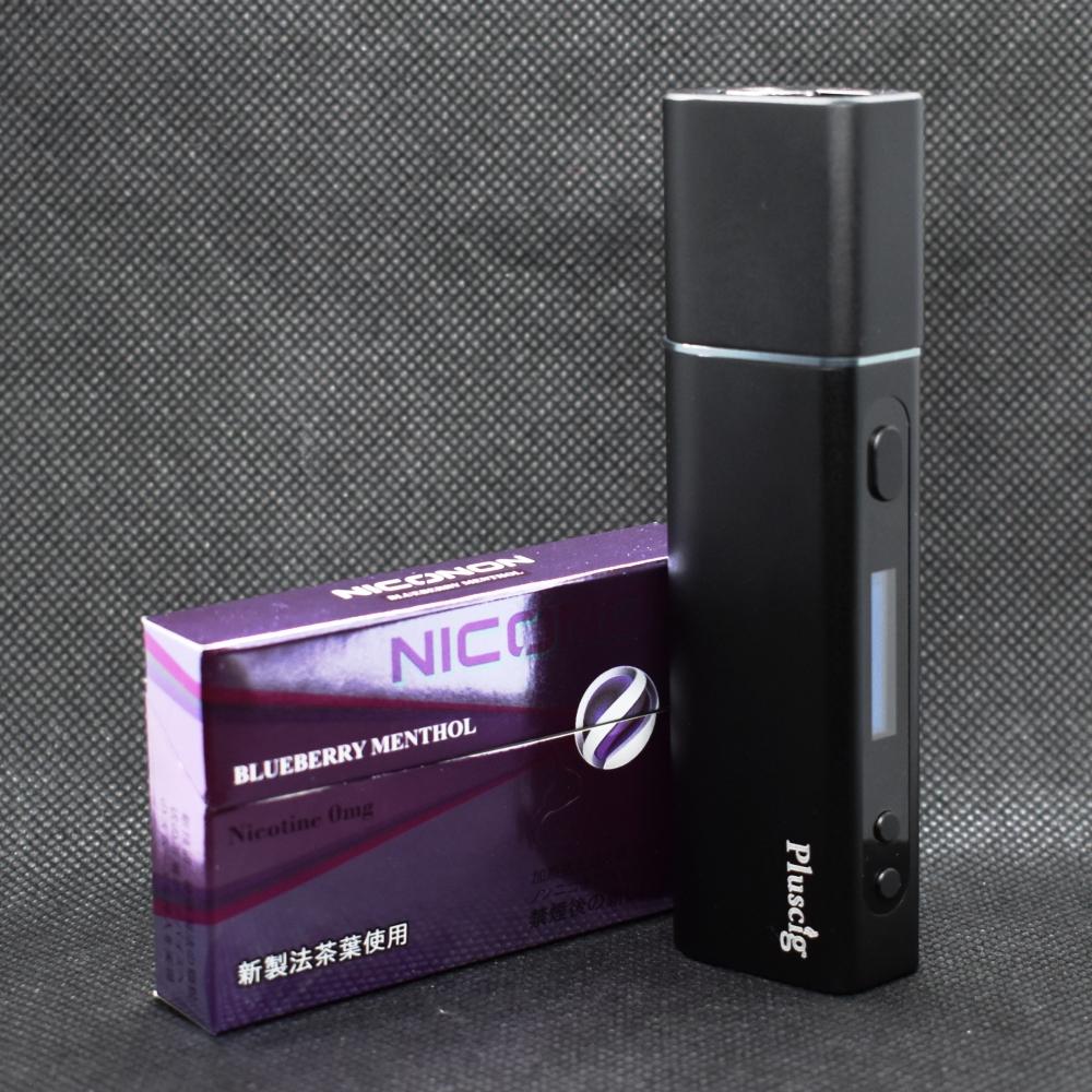 NICONONブルーベリーメンソール,アイコス互換機,Pluscig S9,プラスシグ エスナイン