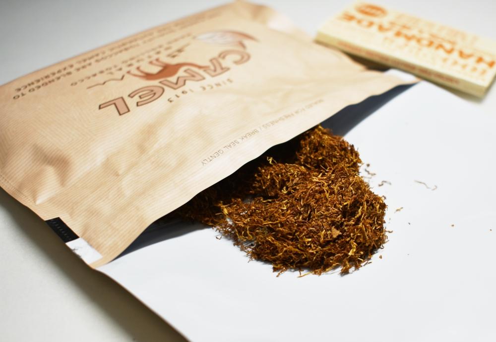 シャグ,キャメルナチュラル,たばこ葉