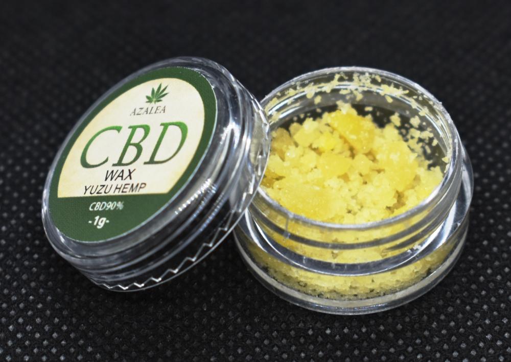 AZALEA高濃度CBD WAX 90% 柚子ヘンプ